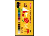 iPhone XS 5.8インチ用 サクラクレパス ガラスハイブリッド B. デザインB GHP7046BKB