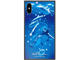 iPhone XS 5.8インチ用 ラッセン ガラスハイブリッド A. MAGICAL MOMENT GHP7043BKA