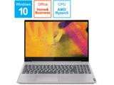 ノートPC ideapad S340 Ryzen 5 81NC002JJP プラチナグレー [Ryzen 5・15.6インチ・Office付き・SSD 256GB]