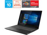 ノートPC ideapad L340 81LW002RJP グラナイトブラック [Ryzen 3・15.6インチ・Office2019付き・SSD 128GB・メモリ 4GB]