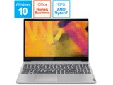 ノートPC ideapad S340 Ryzen7 81NC003PJP プラチナグレー [Ryzen 7・15.6インチ・Office付き・SSD 256GB]