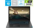 ゲーミングノートPC ideapad L340 Gaming i7 81LL003UJP ブラック [Core i7・17.3インチ・メモリ 16GB・GTX 1650]