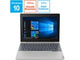 モバイルノートPC ideapad D330 81H300EVJP ミネラルグレー [Celeron・10.1インチ・Office付き・eMMC 64GB・メモリ 4GB]