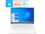 ノートパソコン YogaSlim750iCarbon ムーンホワイト 82EV003AJP [13.3型 /intel Core i7 /SSD:512GB /メモリ:8GB /2020年12月モデル]