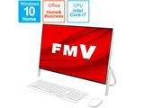 FMVF70E1W デスクトップパソコン FMV ESPRIMO FH70/E1 ホワイト [23.8型 /SSD:512GB /メモリ:8GB /2020年5月モデル]