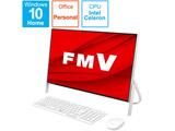 FMVF52E1W デスクトップパソコン FMV ESPRIMO FH52/E1 ホワイト [23.8型 /SSD:512GB /メモリ:4GB /2020年5月モデル]