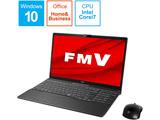 ノートパソコン LIFEBOOK AH77/E2 ブライトブラック FMVA77E2B [15.6型 /intel Core i7 /SSD:1TB /メモリ:8GB /2020年6月モデル]