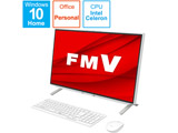 FMVF52E3W デスクトップパソコン ESPRIMO FH52/E3 ホワイト [23.8型 /SSD:512GB /メモリ:4GB /2020年冬モデル]