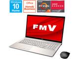 ノートパソコン LIFEBOOK NH78/E3 シャンパンゴールド FMVN78E3GB [17.3型 /AMD Ryzen 7 /SSD:1TB /メモリ:8GB /2021年1月モデル]