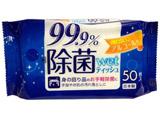 99.9%除菌ウェットティッシュ50枚