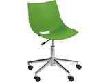 パソコンチェア コスカ スウィーベルX 回転脚タイプ 緑 グリーン 411-690