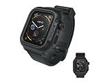 Apple Watch Series 4 44mm 完全防水ケース バンド付 CT-WPAW1844-BK ブラック