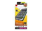iPhone 11 Pro Max 6.5インチ用 のぞき見防止 複合フレームガラス ブラック TR-IP19L-G3-PVCCBK