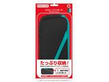 スリムソフトポーチ(Switch Lite用)ブラックターコイズ CC-SLSSP-BT 【Switch Lite】