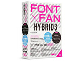【在庫限り】 FONT x FAN HYBRID 3 乗り換え/特別限定版 Win・Mac/DVD