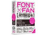 〔Win・Mac版〕 FONT x FAN HYBRID 4