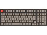 AS-KBM02/SRGBA ARCHISS Maestro2S ゲーミングメカニカル スペースセービングフルキーボード[日本語JIS配列 黒ボディ・グレーキーキャップモデル/CHERRY MX 静音赤軸]