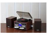 DVDカラオケ録音機能付木製CDコピー多機能 TS-6153