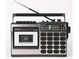ラジカセ(ラジオ+カセットテープ) 昭和の想いでラジカセ TLS-8800 ブラック [ワイドFM対応 /SD・USB対応]