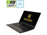 【在庫限り】 ゲーミングノートPC GALLERIA GAMEMASTER GNBC505T [Core i5・15.6インチ・メモリ8GB・GTX 1050Ti]