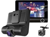 3カメラ搭載ドライブレコーダー ココロ ドライブ   TLMDVR003 [セパレート型 /Full HD(200万画素) /前後カメラ対応 /駐車監視機能付き]