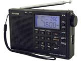 AR-MD20 携帯ラジオ パールブラック [AM/FM/短波/長波 /ワイドFM対応]