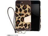【在庫限り】 RAKUNI(ラクニ) LeatherCase foriPhone7Plus/8Plus RAK-Ca7p-01-leo レパード
