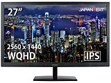 PCモニター   JN-IPS2777WQHD [27型 /ワイド /WQHD(2560×1440)]