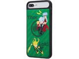 iPhone 8 Plus MARVEL耐衝撃ケースキャトル パネル マイティ・ソー1 IQMVP76PCC3PCBMVL007