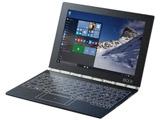 モバイルノートPC YOGA BOOK with Windows ZA150128JP カーボンブラック [Win10 Home・Atom x5・10.1インチ・Office付き・128GB]