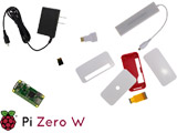 Raspberry Pi Zero W スターターキット RASST0WSTA0082