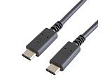 1.8m[USB-C ⇔ USB-C]2.0ケーブル 充電・転送 USB PD対応 100W  ブラック GP-CCU2E180CM/B