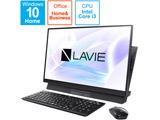 PC-DA400MAB3 デスクトップパソコン LAVIE Desk All in One ファインブラック [23.8型 /SSD:512GB /メモリ:8GB /2020年11月モデル]