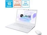 ノートパソコン LAVIE N14シリーズ パールホワイト PC-N1455BZW-2 [14.0型 /intel Core i5 /SSD:512GB /メモリ:8GB /2021年1月モデル]