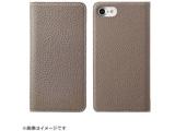 iPhone 8用 手帳型 BONAVENTURA German Togo leather diary case グレージュ BOTD8-GG-RT