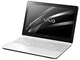 15.5型ノートPC [Win10 Home・Celeron] VAIO Fit15E  mk3 ホワイト VJF15690511W