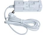 電源タップ (2ピン式・3個口・3m) PTBK3303WH ホワイト【ビックカメラグループオリジナル】