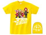 【11月発売予定】 [イエロー/M]マクとまTシャツ Ver.2 「歌は生命」 イエロー/Mサイズ