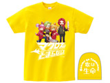[イエロー/L]マクとまTシャツ Ver.2 「歌は生命」 イエロー/Lサイズ【2次出荷】