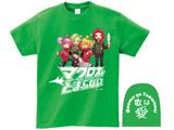 【12月下旬発送予定】 [グリーン/XL]マクとまTシャツ Ver.2 「歌は愛」 グリーン/XLサイズ