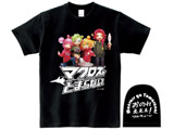 【12月下旬発送予定】 [ブラック/M]マクとまTシャツ Ver.2 「おのれぇぇぇ」 ブラック/Mサイズ