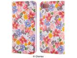 iPhone 7用 手帳型ケース ディズニー ミニーマウス フラワー ピンク IJ-DP7LC/MN001