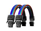 [ アドレッサブルRGB LED 12灯搭載 ] XPG PRIME ARGB EXTENSION CABLE - VGA  ARGBEXCABLE-VGA-BKCWW