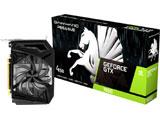 GTX1650 PEGASUS 4G GDDR6 128bit DVI HDMI DP   NE61650018G1-166F [4GB /GeForce GTXシリーズ]