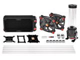 Pacific Gaming RL240 D5 PETG Water Cooling Kit (CL-W198-CU00RE-A)