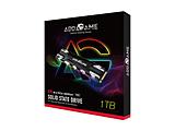 ad1TBX70M2P 内蔵SSD RGBヒートシンク付き X70シリーズ  [M.2 /1TB]