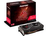PowerColor RED DRAGON シリーズ AMD Radeon RX 5500 XT 搭載 デュアルファン モデル AXRX 5500XT 8GBD6-DHR/OC AXRX 5500XT 8GBD6-DHR/OC