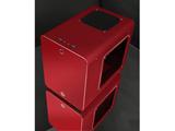 RAIJINTEK METIS PLUS 0R200056 (Mini-ITXケース/電源別売り/レッド)