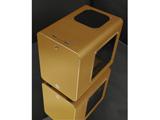 RAIJINTEK METIS PLUS 0R200059 (Mini-ITXケース/電源別売り/ゴールド)