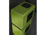 RAIJINTEK METIS PLUS 0R200060 (Mini-ITXケース/電源別売り/グリーン)